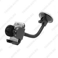Универсальный держатель для сот.телефона, MP3, MP4, КПК, GPS (Crystal)  Жёсткий кронштейн.