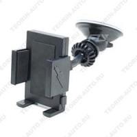 Универсальный держатель для сот.телефона, MP3, MP4, КПК, GPS  Жёсткий  3х точечный кронштейн