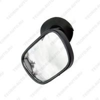Зеркало внутрисалонное на присоске (трапеция) 55-58 мм.