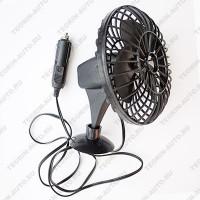 Вентилятор автомобильный 5'' 12V (пластик)