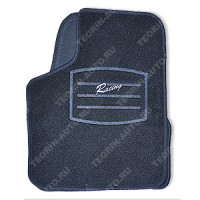 Ковры внутрисалонные ворсовые комплект 4шт. для ВАЗ 2110-2170 (Racing)