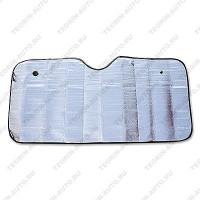 Шторка солнцезащитная на лобовое стекло (130см-60см)