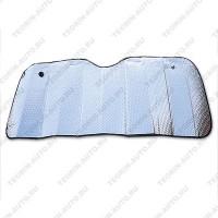 Шторка солнцезащитная на лобовое стекло (двухсторонняя) (130см-60см)