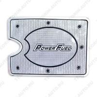 Наклейка (накладка) на крышку бензобака для ВАЗ 2114-15