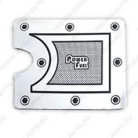 Наклейка (накладка) на крышку бензобака для ВАЗ 2109-99