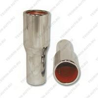 Декоративная насадка на глушитель HAKTAN 48501 (хром)