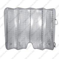 Шторка солнцезащитная на лобовое стекло (двухсторонняя) (145см-70см)