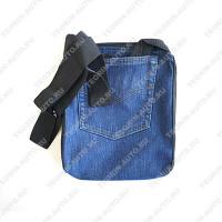 Сумочка через плечо джинса (25см-20см)